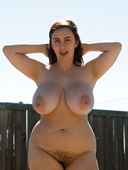 Big floppy tits naked